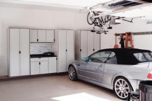 Garage Cabinets & Overhead Storage!