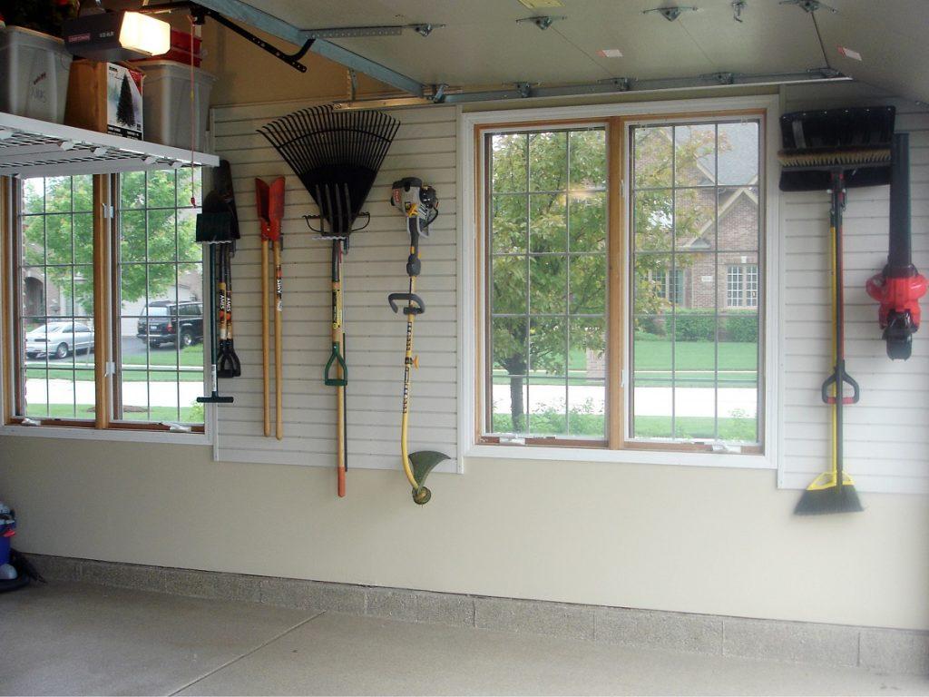 ideal garage slatwall organization solutions