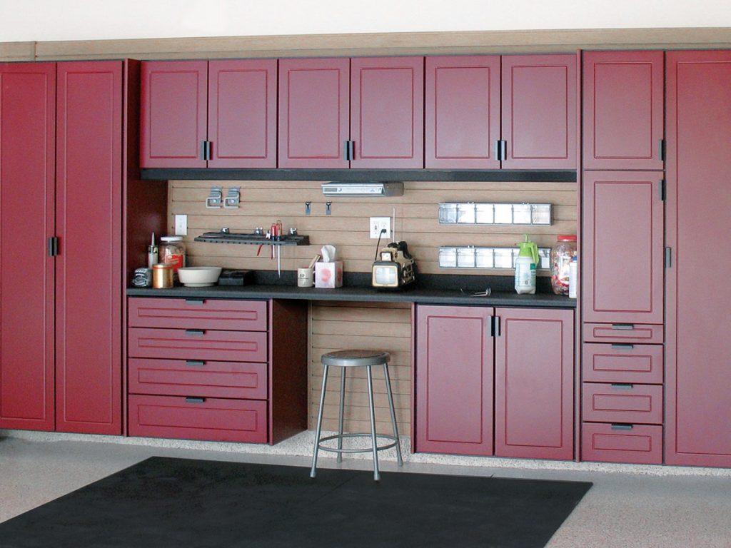 ideal garage storage cabinet solutions