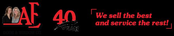 ae door logo