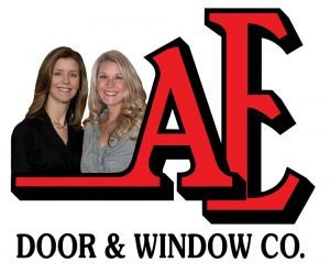 ae garage door logo